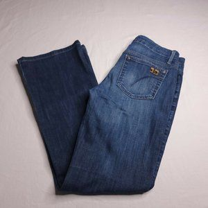 Joes Jeans The Muse Size 27 Bootcut Medium Wash Low Rise Jeans Womens